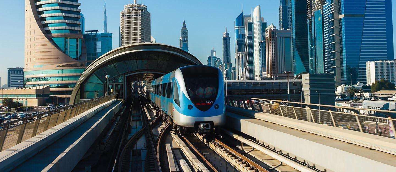 Metro en Dubái - Precio, horario, plano y mapa