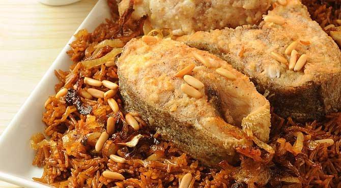 Que comen en Egipto - comida típica egipcia - Pescado Sayadiya