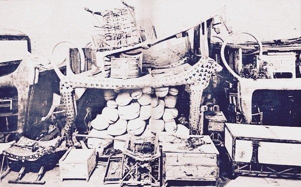 Tumba de Tutankamón - Ajuar mortuorio