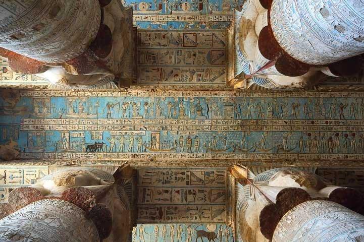 El templo de Dendera   Templo de Hathor, señora del cielo