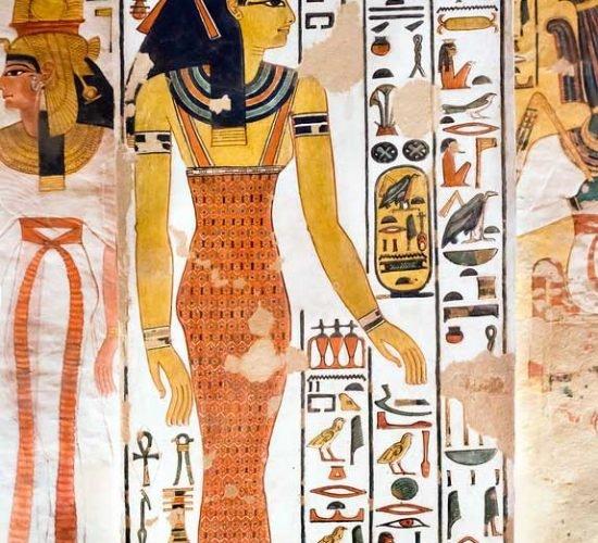 Valle de las reinas - Tumba de Nefertari